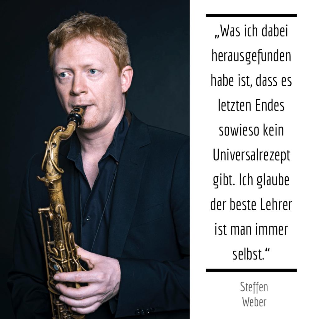 Wie übt eigentlich Steffen Weber?